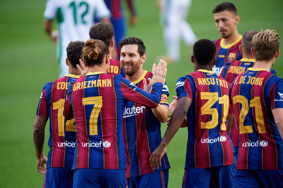 FC Barcelona Already Have Their Starting Lineup For The New La Liga Season Report Claims