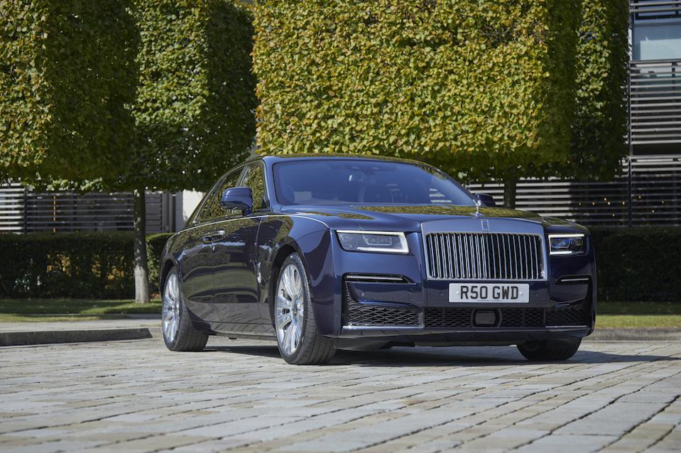 Rolls-Royce 2020 Ghost and the Nicholas Grimshaw-designed Goodwood plant