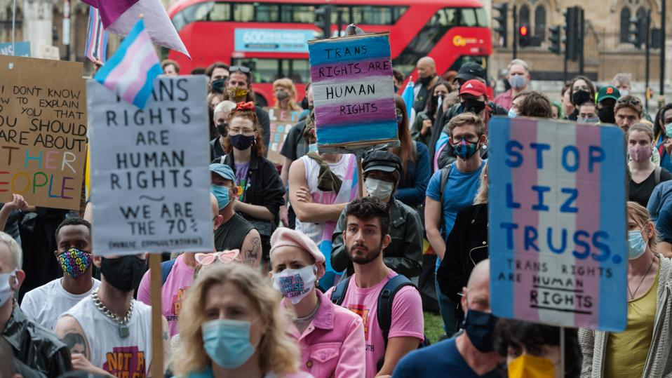 Trans Rights Protest in London