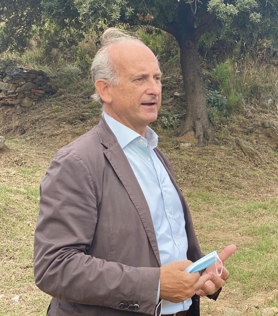 Lamberto Frescobaldi on Gorgona Island