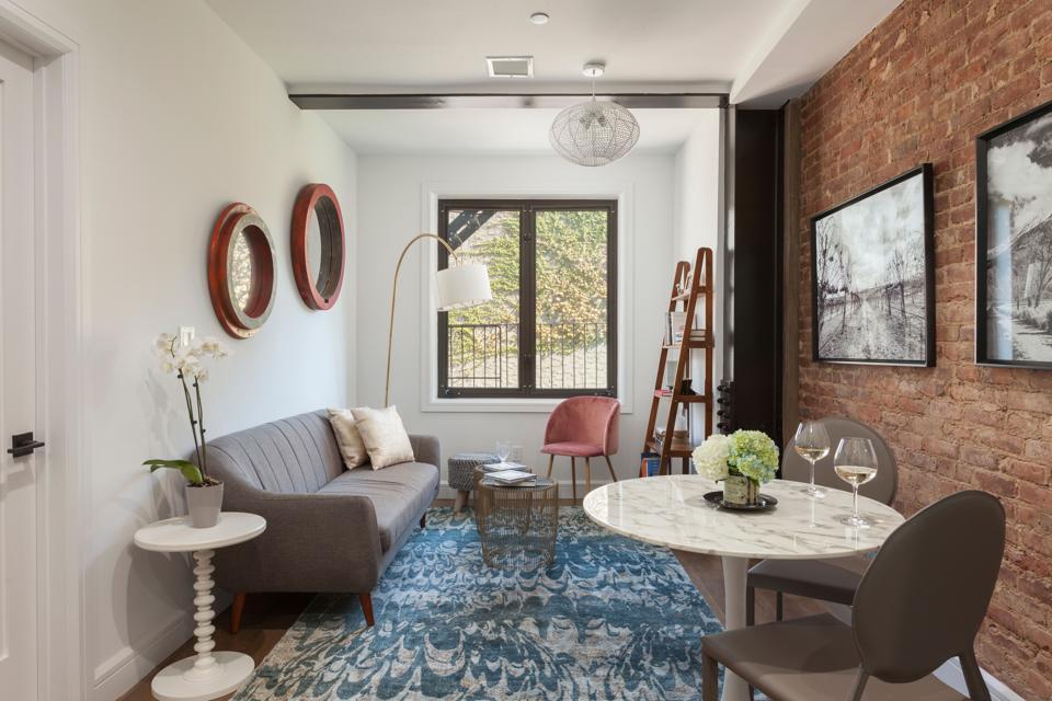 A Node apartment's living room
