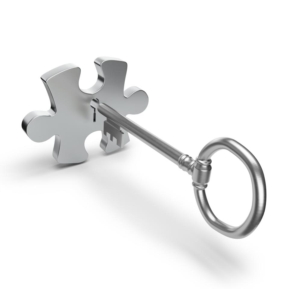 The key opens the puzzle