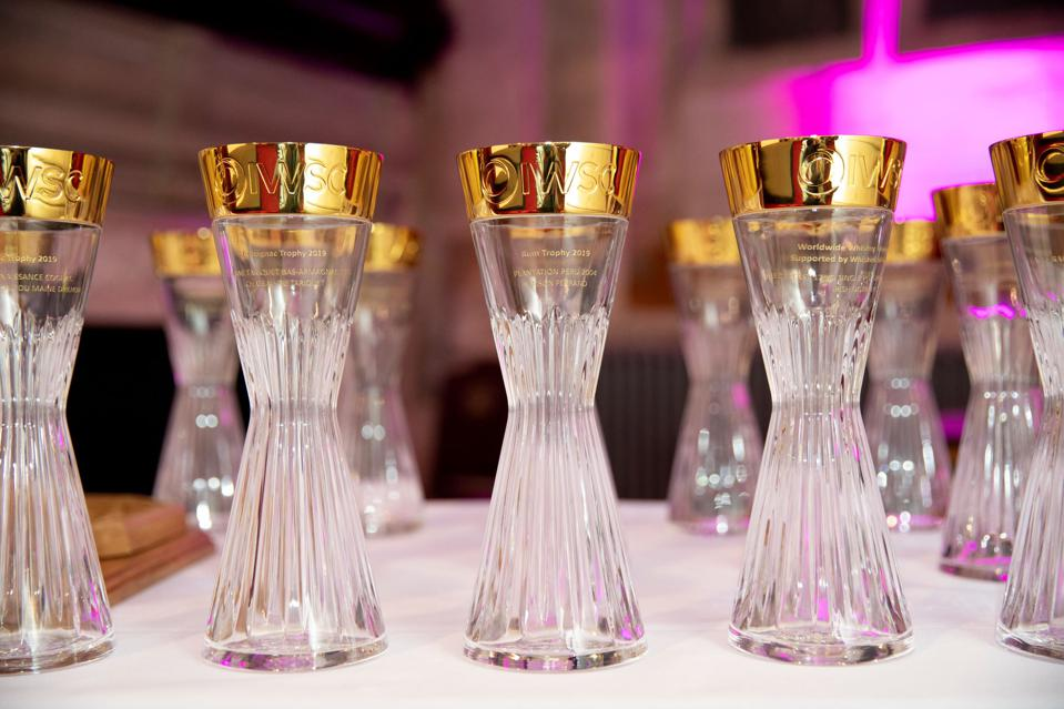 The International Wines & Spirits Competition 2019 Spirit Trophies.