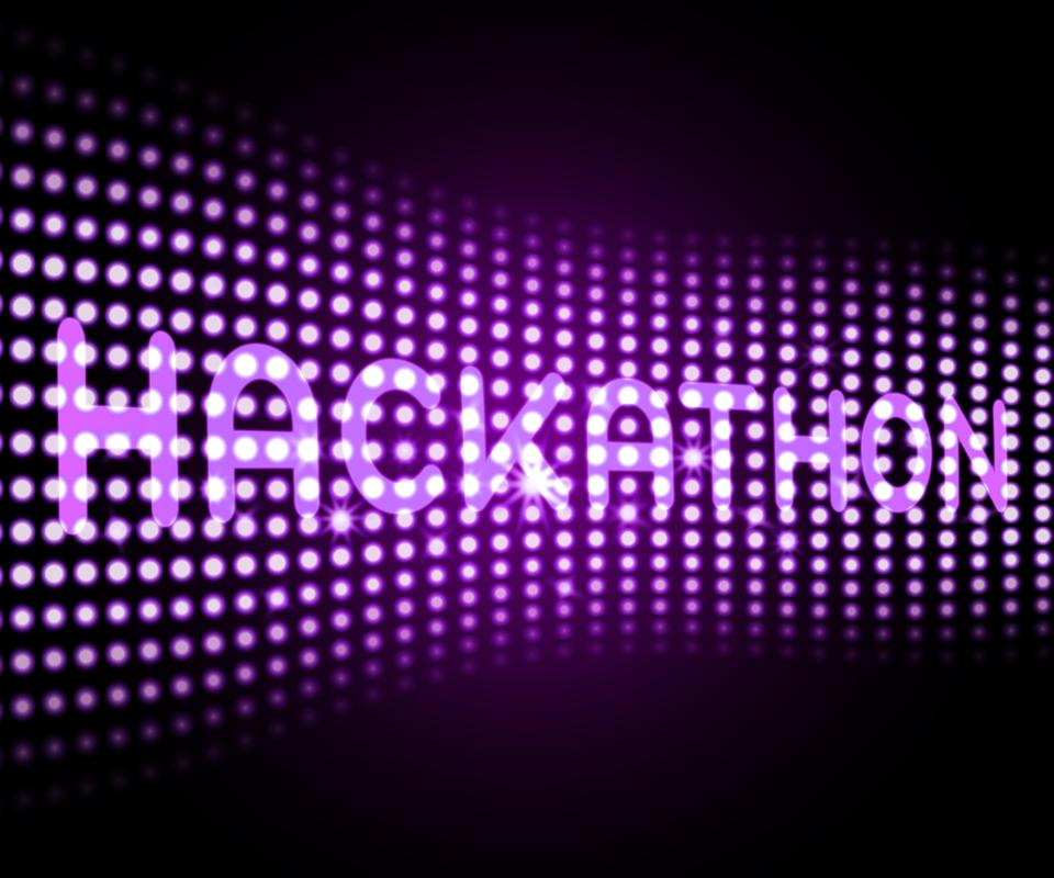 Hackathon technology illustration