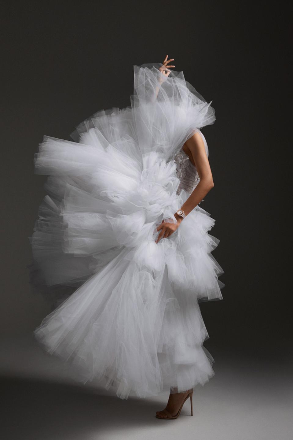 Audemars Piguet teams with fashion house Ralph & Russo to walk the catwalk at Paris Fashion Week, beginning next Monday.