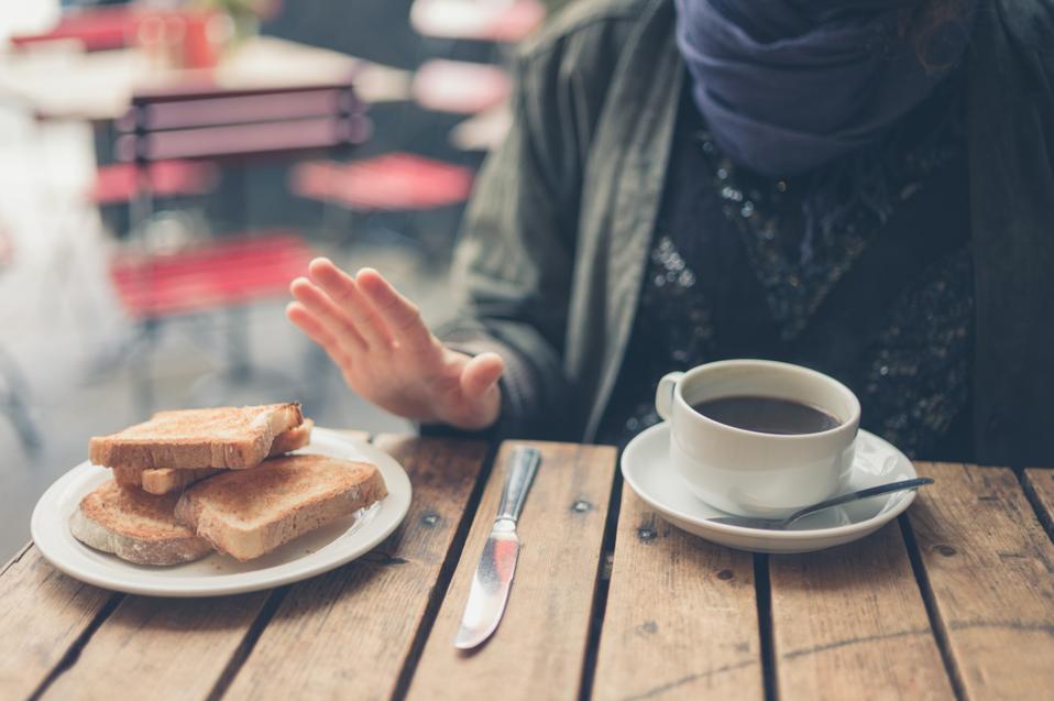 Femme au régime sans gluten