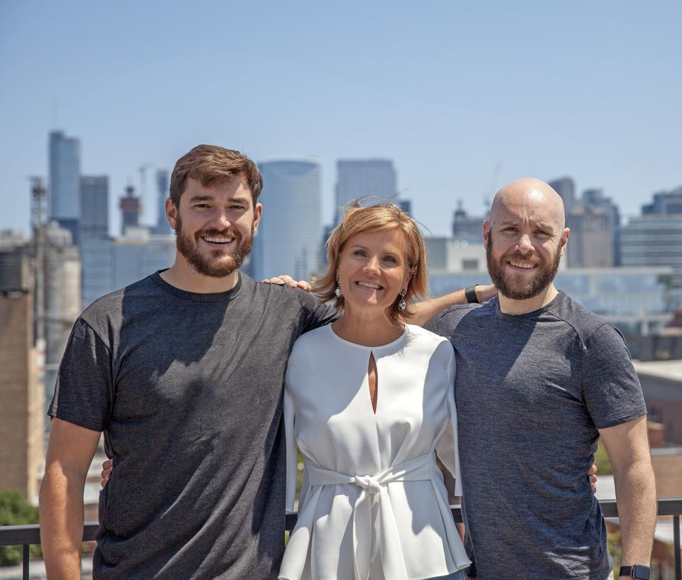 Evan Wray(co-founder), Peggy O'Flaherty(co-founder), and Sean O'Brien(co-founder)