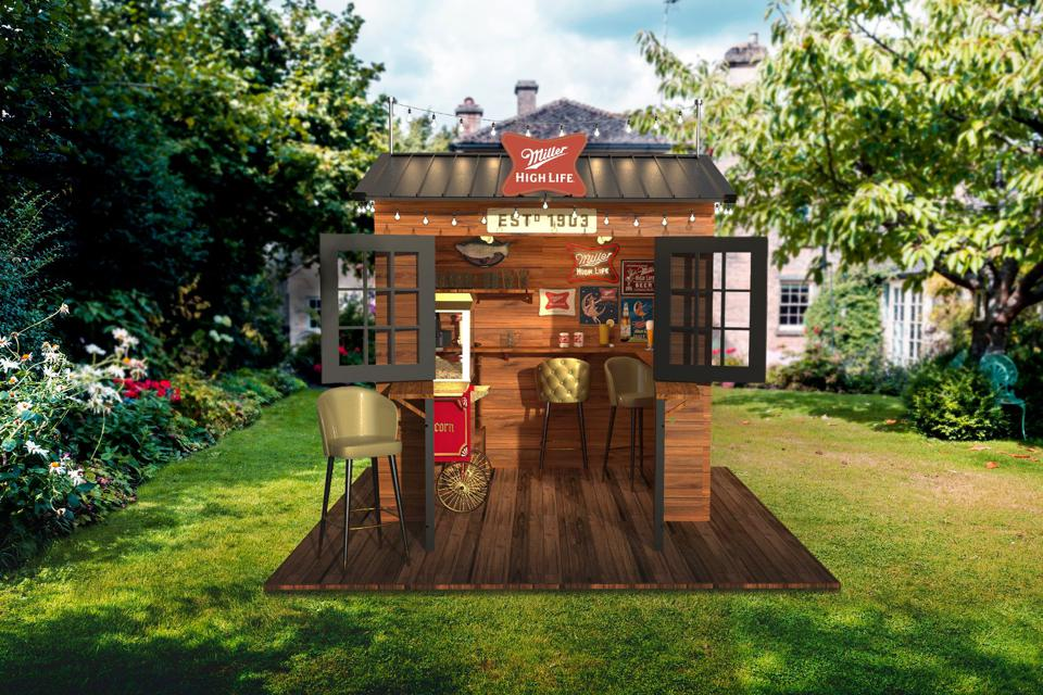 One lucky contestant will win this backyard dive bar.