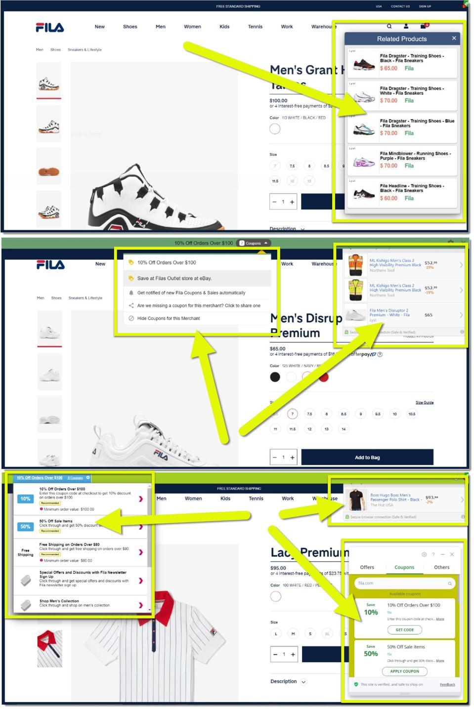 brandlock.io (screen shot of examples)