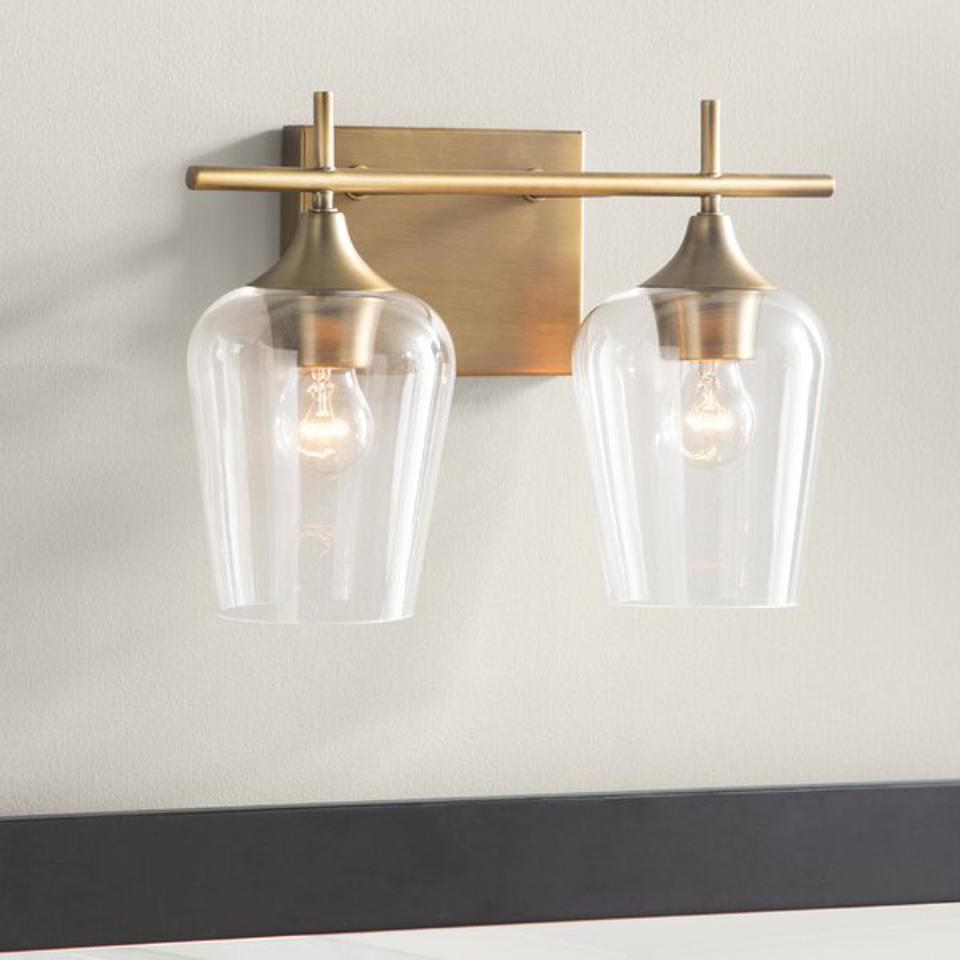 Mercury Row Hickerson 2-Light Dimmable Vanity Light