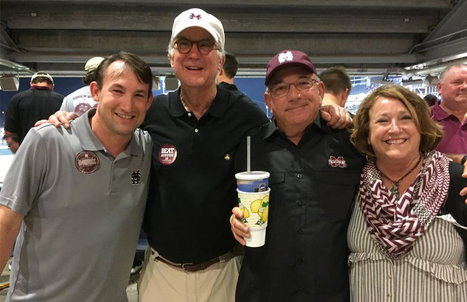 Blue and Bill Reeves, of Starkville, Miss., and friends