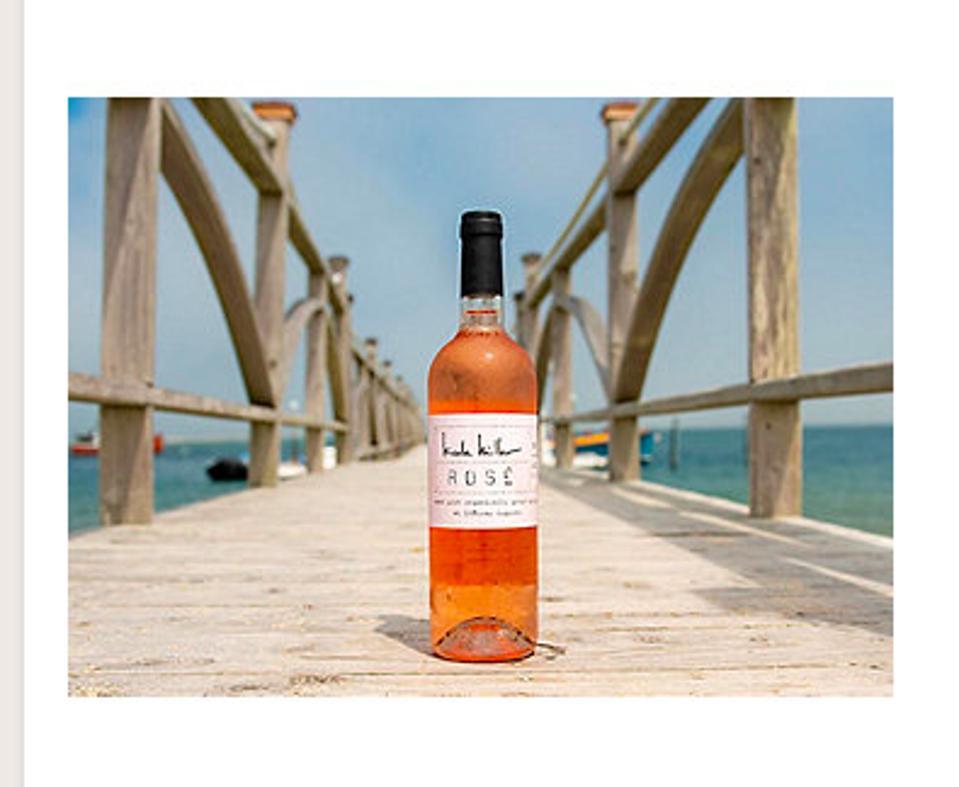 Nicole Miller rosé wine
