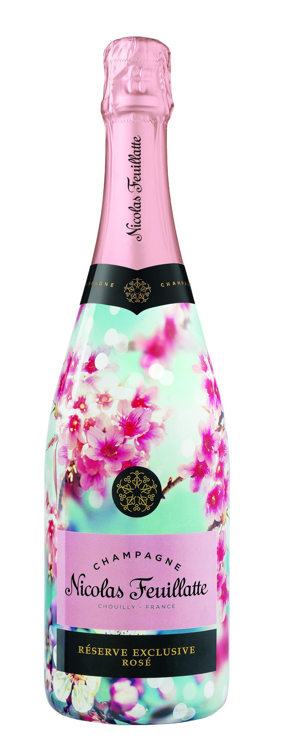 Nicolas Feuillatte pink Champagne