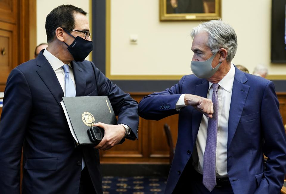 House Holds Hearing On Treasury And Federal Reserve's Pandemic Response