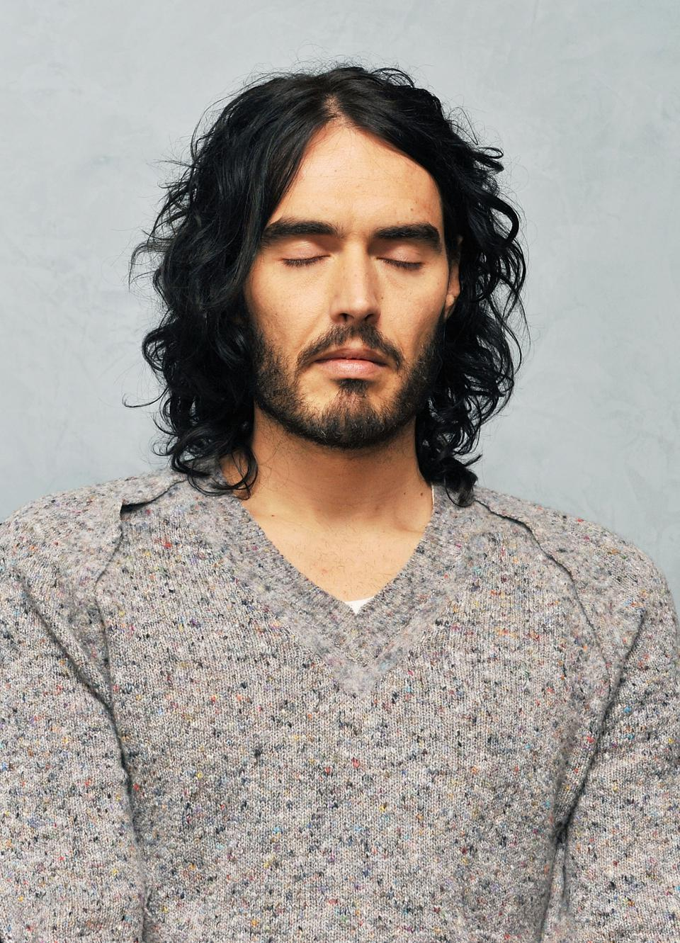 Russell Brand Meditation Session