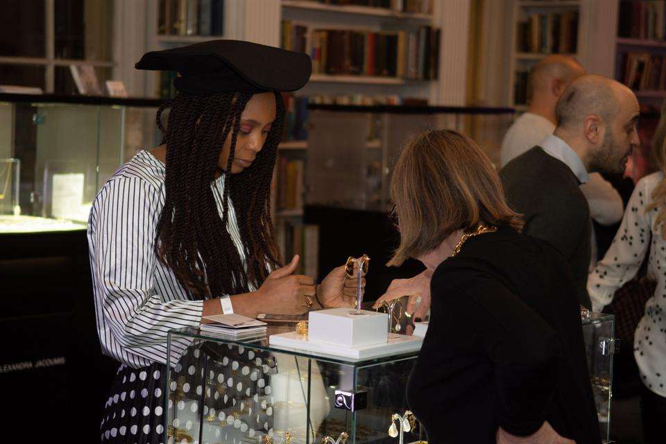 A scene from the Jewellery Cut Live event from February. The October event was canceled