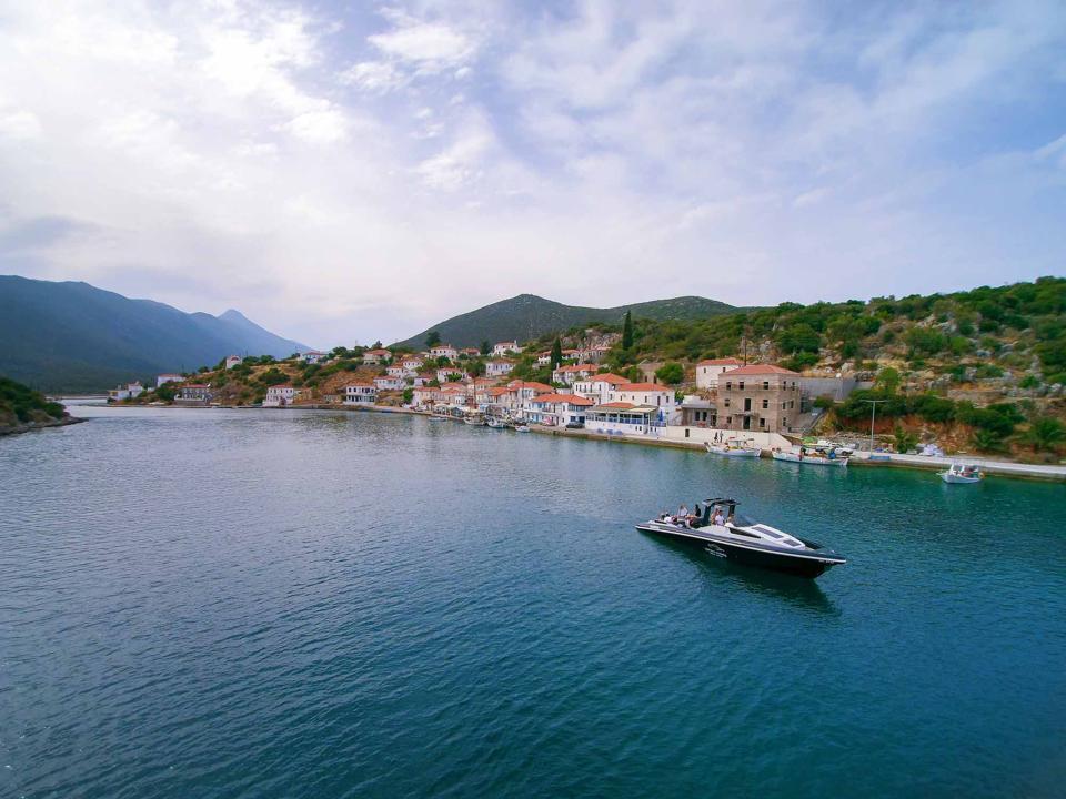 private luxury boat charter in greece's porto heli