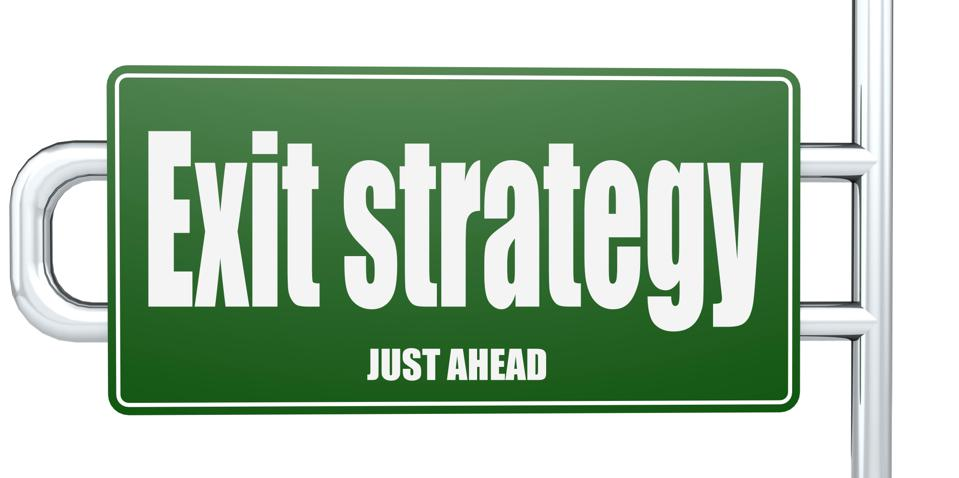 The exit strategy for emerging from chapter 11.
