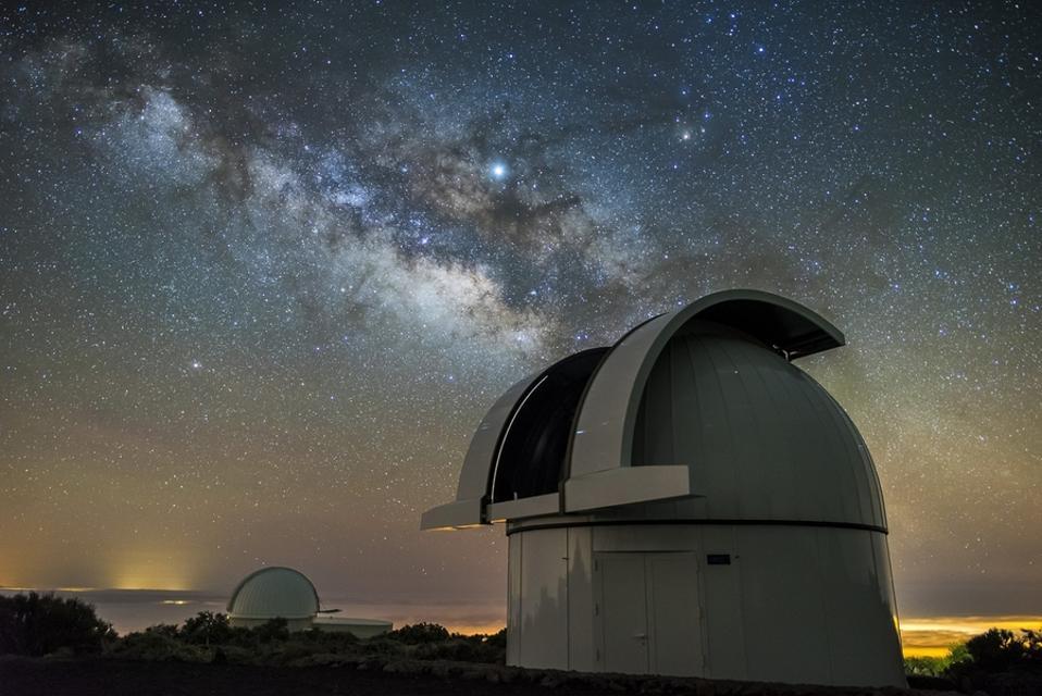 Photo of the Artemis telescope