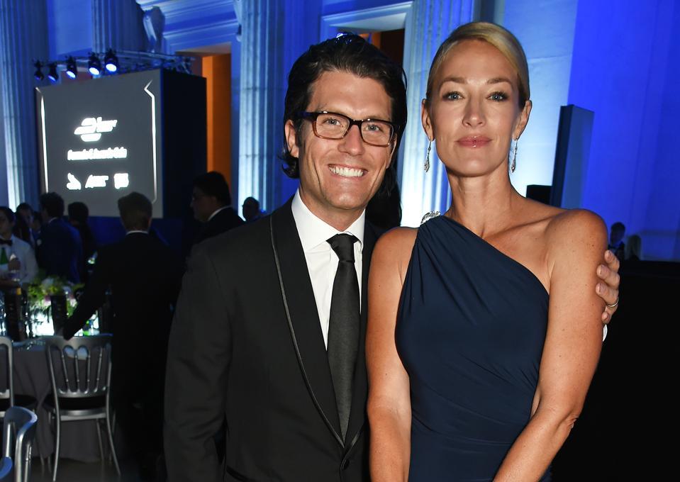 Jay Penske of Penske Media Group with wife Elaine Irwin