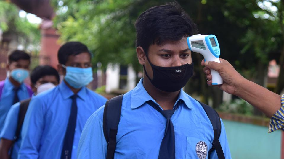 INDIA-VIRUS-EDUCATION