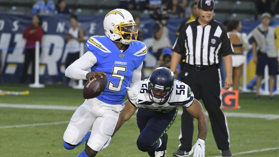 L A Chargers Team Doctor Accidentally Punctured Lung Of Qb Tyrod Taylor