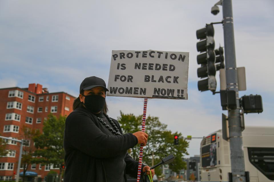 Black Lives Matter Protest In Boston