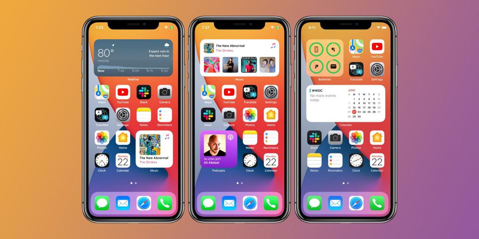 iOS 14 is Apple's latest mobile operating system for iPhone and iPad.