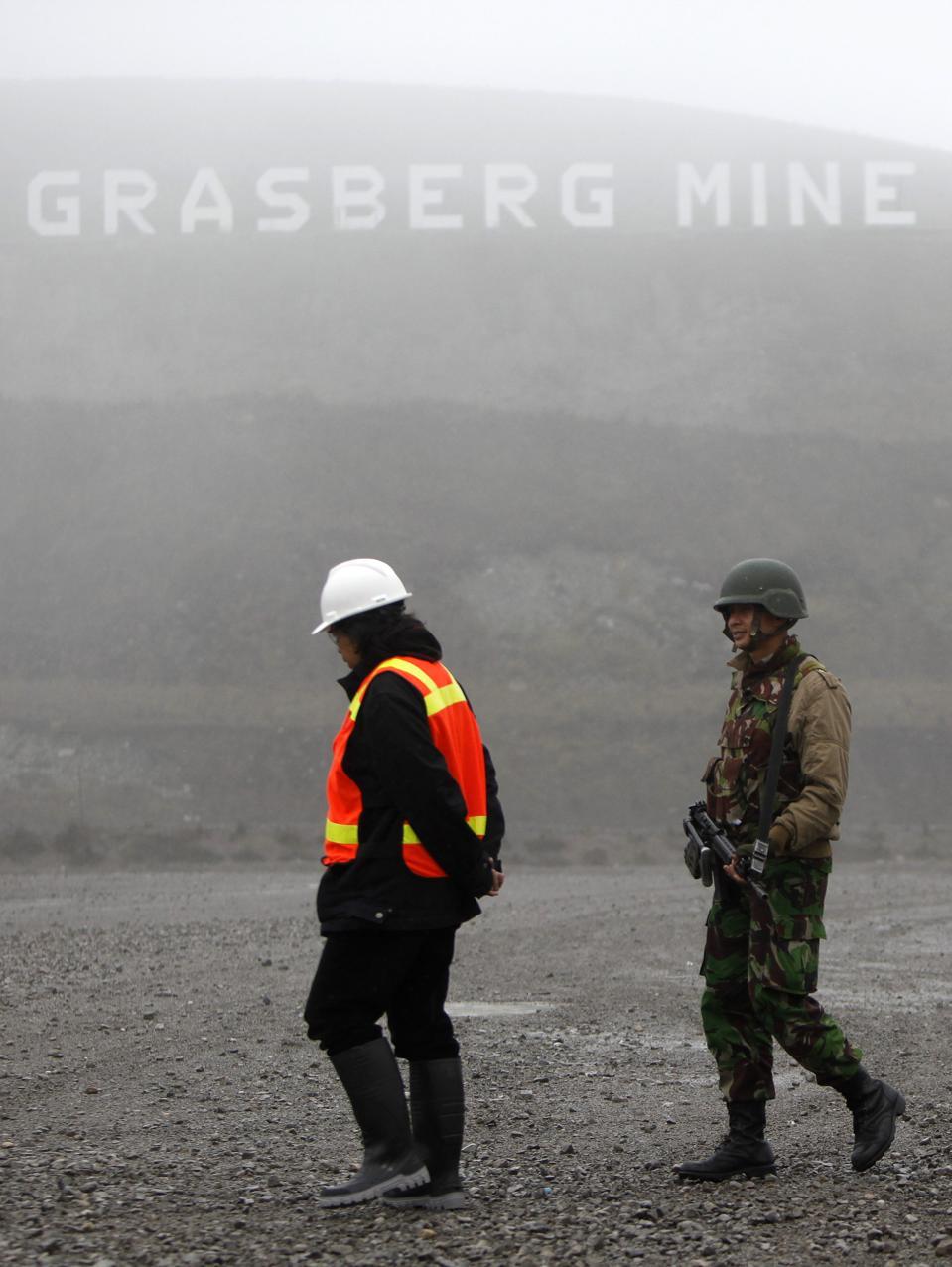 Operations At Freeport-McMoRan Inc.'s Grasberg Gold And Copper Mine