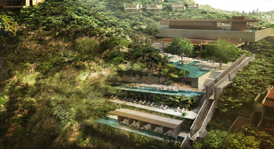 Four Seasons Resort Tamarindo will have four main pools new Mexico hotels