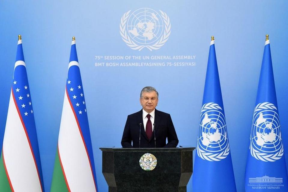 Mirziyoyev Uzbekistan