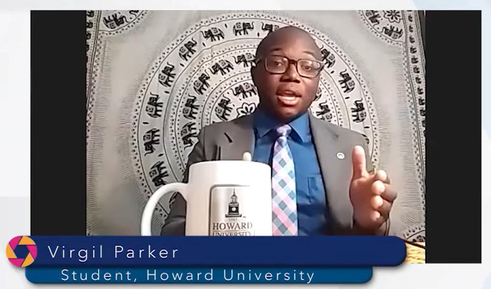 Virgil Parker, Howard University
