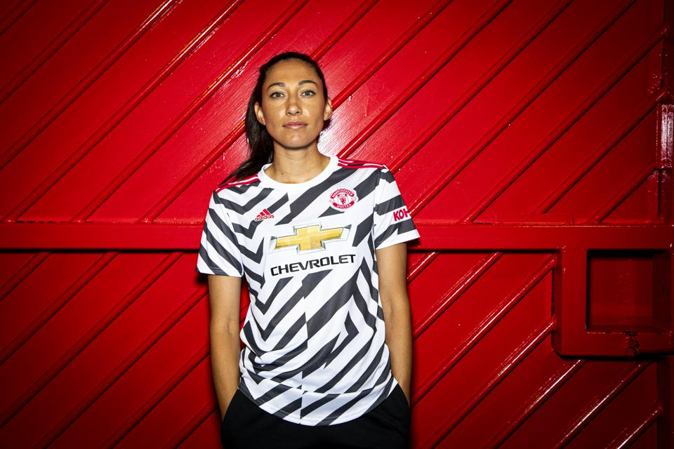 Christen Press Arrives for her first day at Manchester United Women