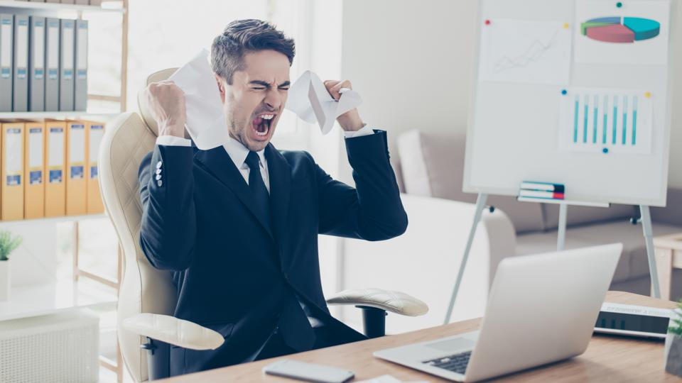 Working with a toxic boss can reduce your productivity and increase your frustration