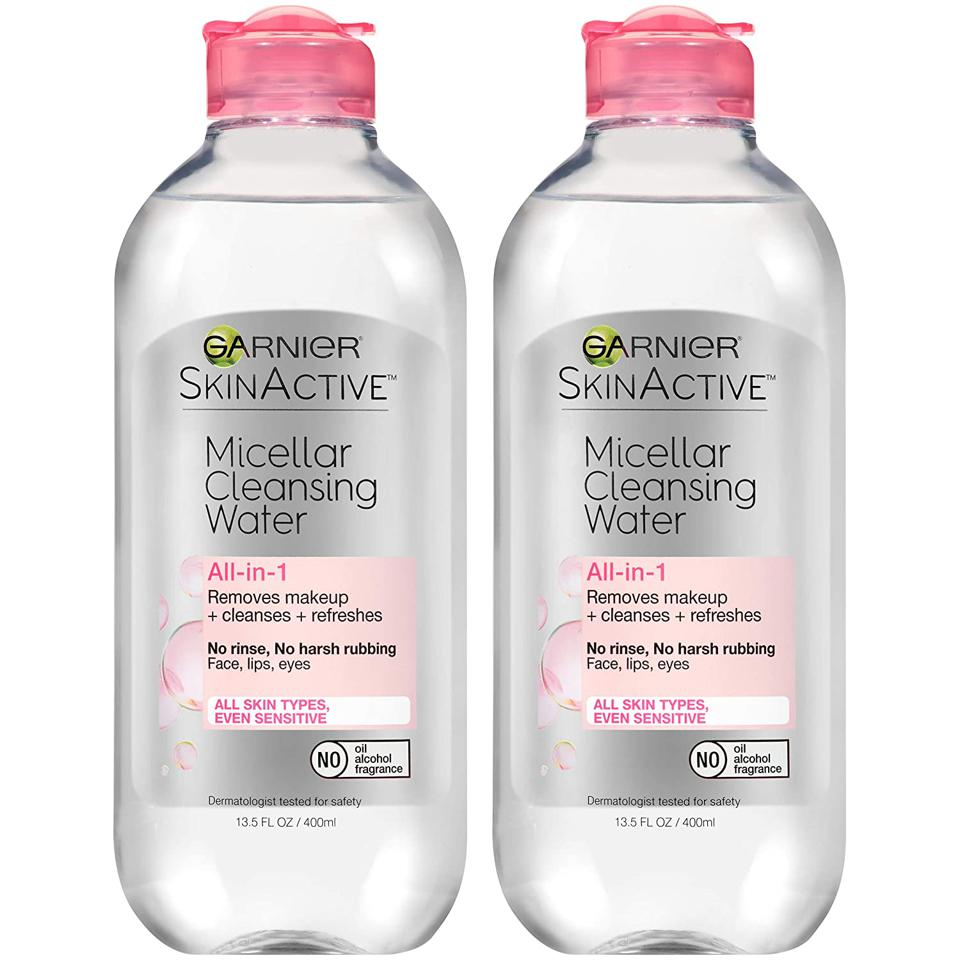Best Beauty Products on Amazon: Garnier SkinActive Micellar Cleansing Water