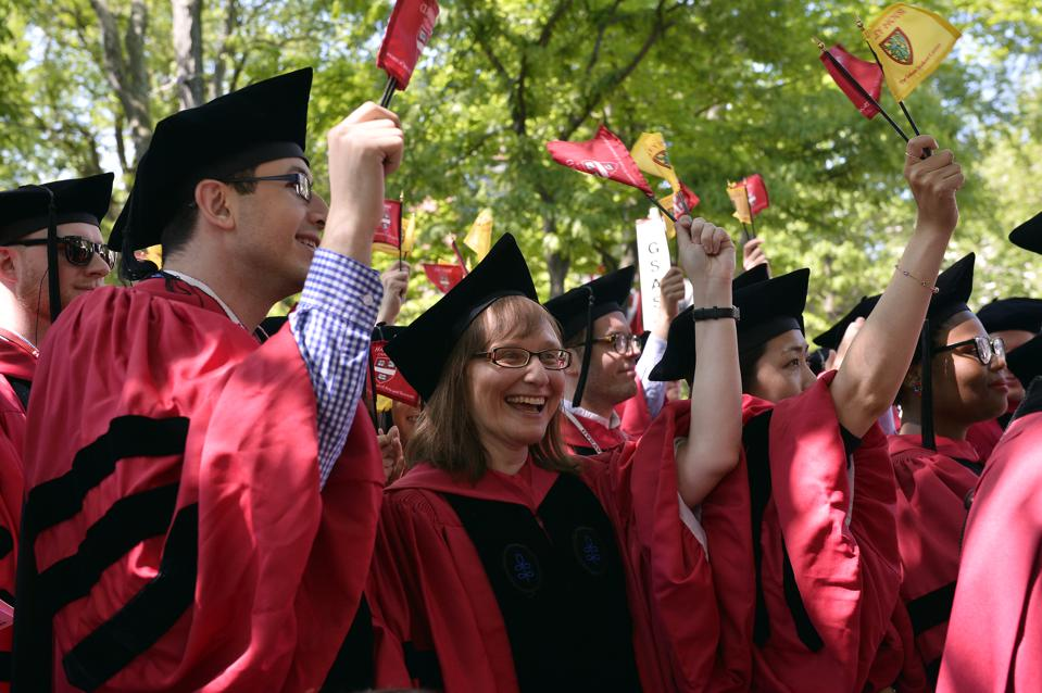 Harvard University Commencement Exercises
