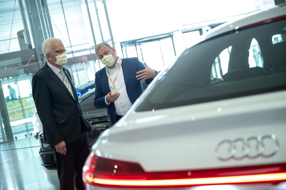 Strategy Dialogue Automotive Industry BW (Photo by Sebastian Gollnow/picture alliance via Getty Images)