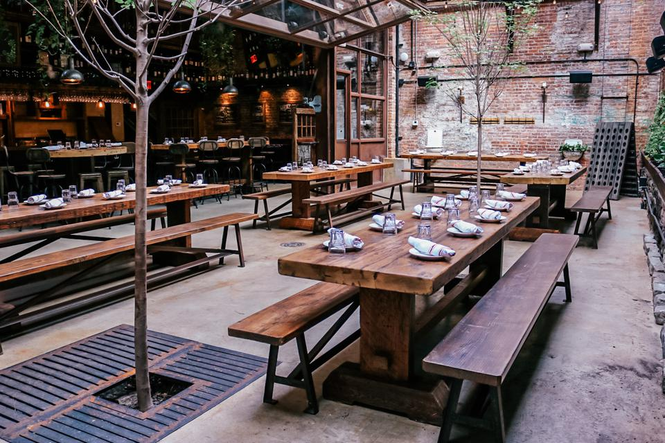 9 Spacious Indoor Dining Options In New York City