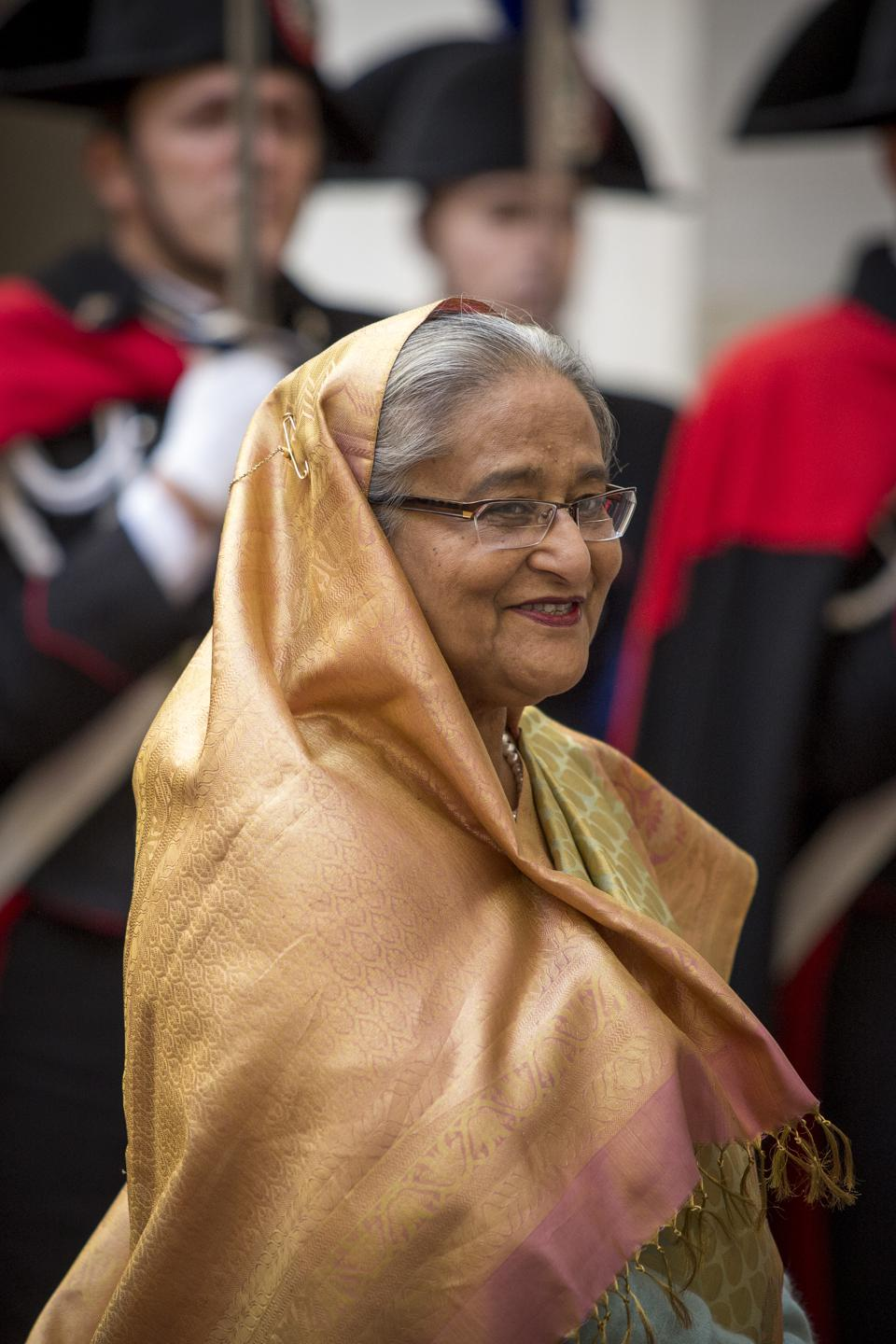 Prime Minister of Bangladesh In Rome