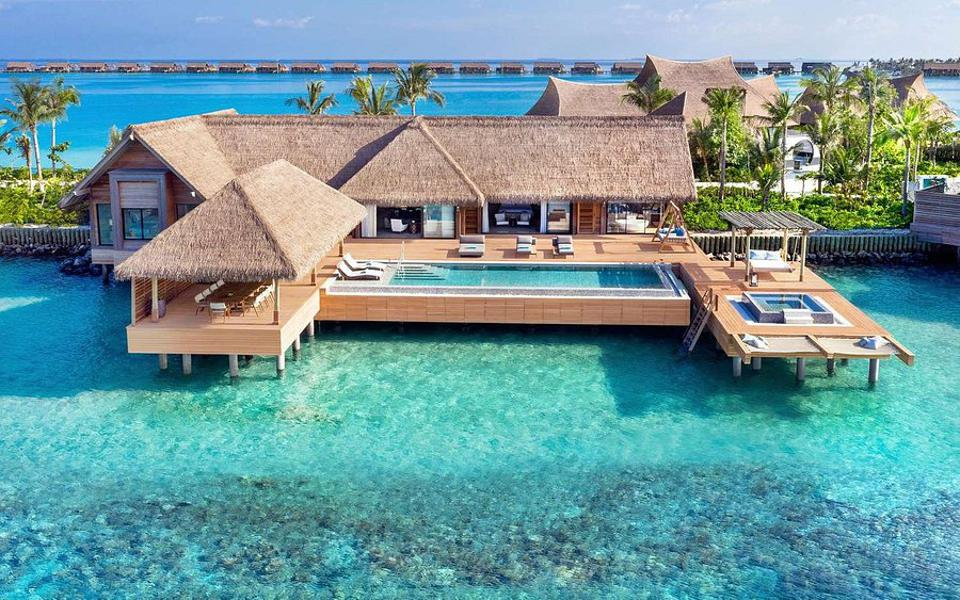 Waldorf Astoria Maldives.
