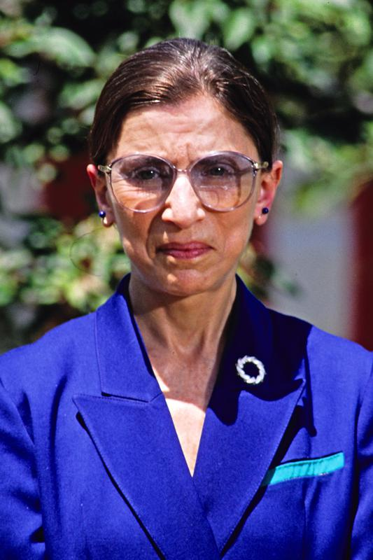 Judge Ginsburg Named To The US Supreme Court
