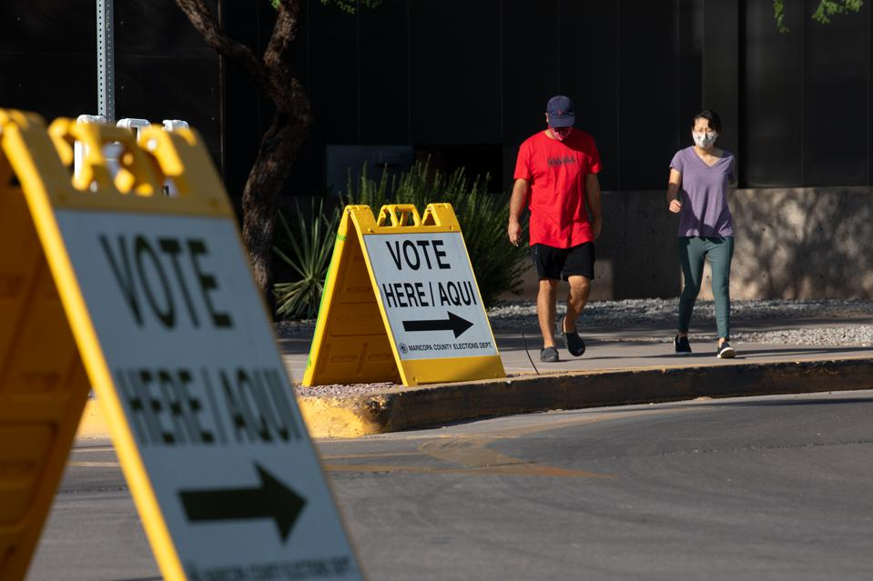 Voters Head To The Polls For Arizona's Primary Election