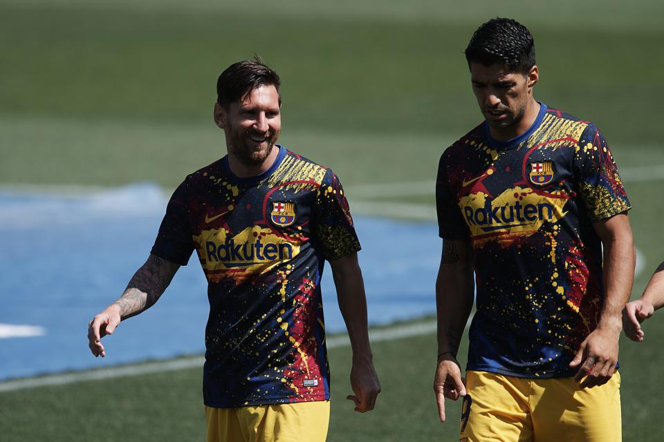 Lionel Messi has been reported as 'sad' and disappointed by Luis Suarez's exit.