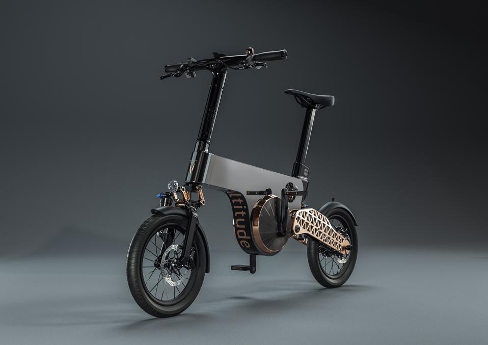 Voltitude's Tourbillon electical bicycle