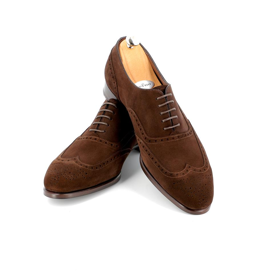 A model of Swiss startup Reed Blake shoes