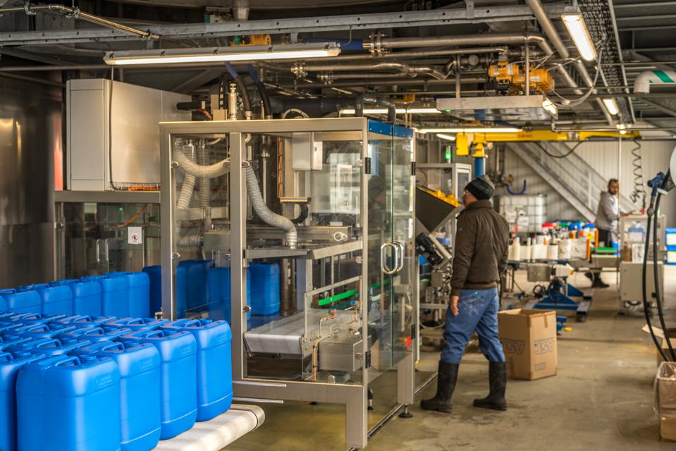 Christeyns Soap Tripled Production In Gent