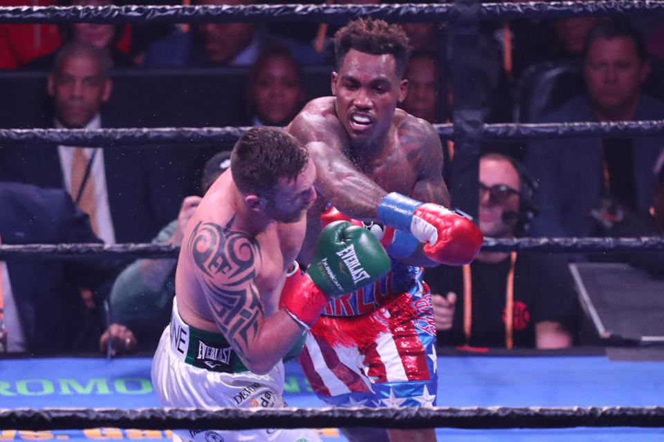 Jermall Charlo vs sergiy derevyanchenko boxing odds prediction
