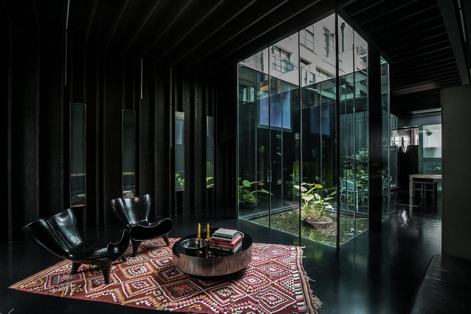 Sir David Adjaye's Lost House in King's Cross offers dramatic living spaces