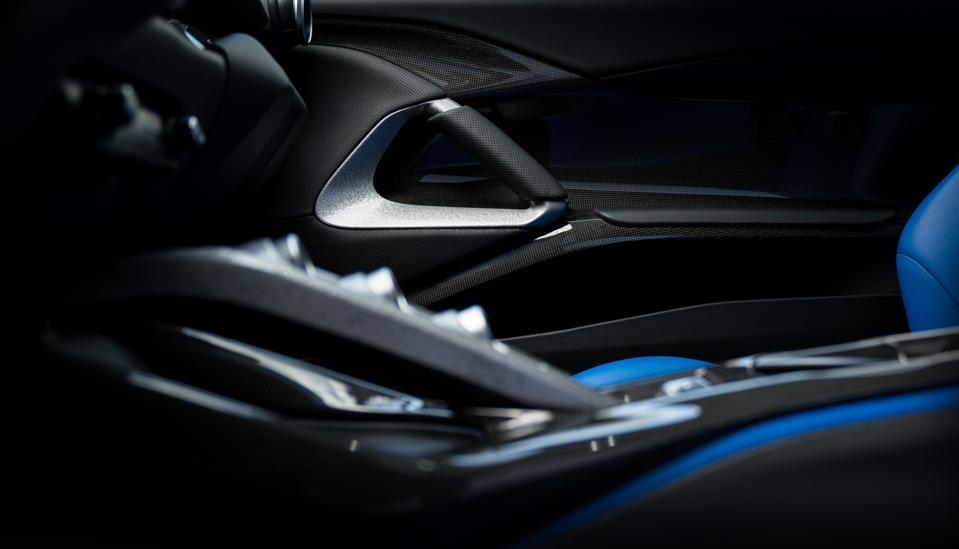 Toma interior del Ferrari Omologata