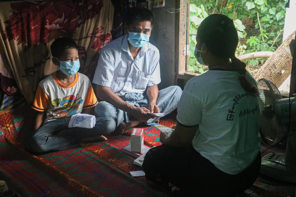 TB care in Myanmar